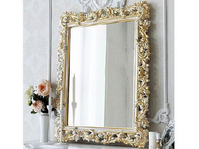 Зеркало в резной багетной раме ручной работы