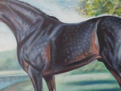 Картина маслом Бальто.