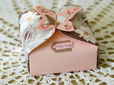 Подарочная упаковка, сделанная руками