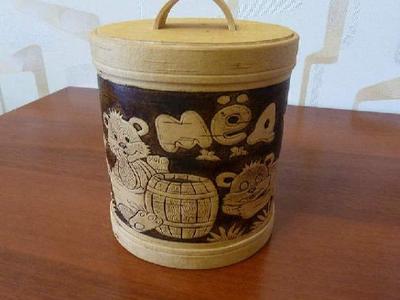Туес ручной работы из березовой коры - handmade