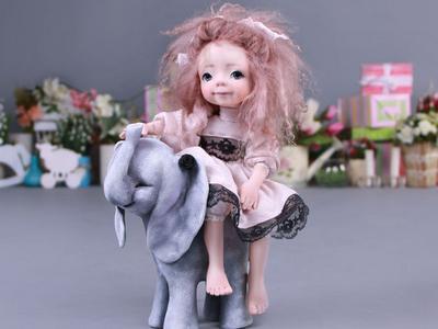 Подвижные куклы своими руками от Оксаны Сальниковой