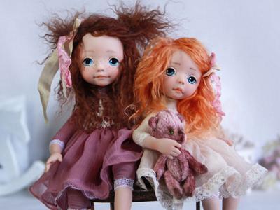 Интерьерные куклы своими руками от Оксаны Сальниковой