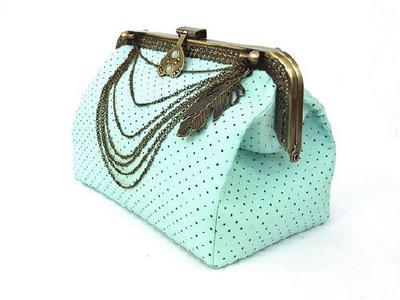 Большая сумочка-клатч сделанная руками на заказ