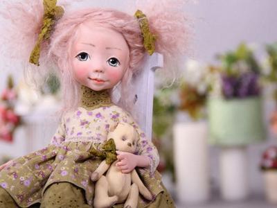 Коллекционная кукла Lilian - handmade своими руками