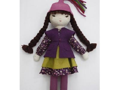 Куклы ручной работы из шерсти