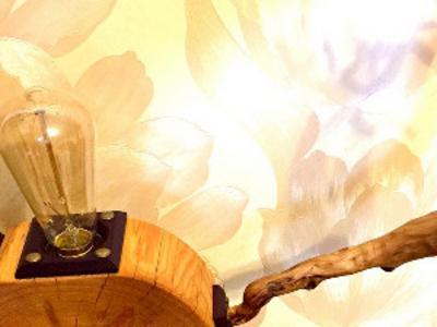 Декоративный Светильник  Wood Larch