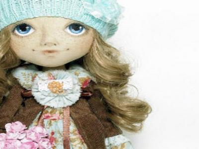 Кукла выполнена на заказ