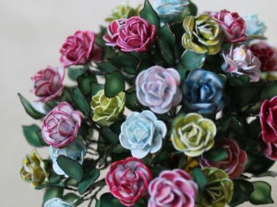 Розы для декора, ручная работа