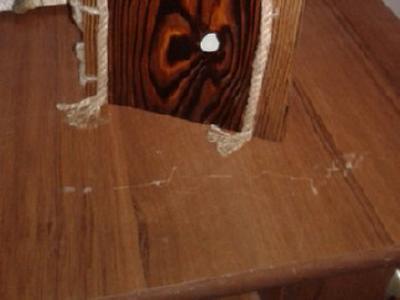 Старинный блокнот из дерева