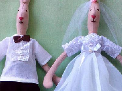 Свадебные зайцы Майлег