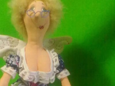 Феечка - Интерьерная кукла ручной работы