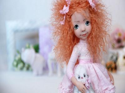 Коллекционная кукла своими руками Люси от Оксаны Сальниковой