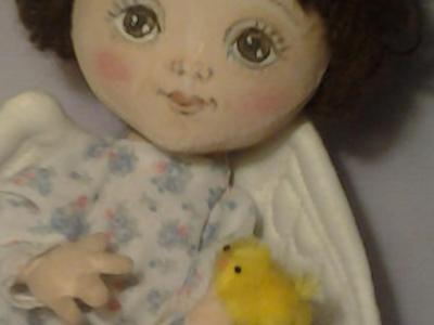Ангел - Интерьерная кукла ручной работы