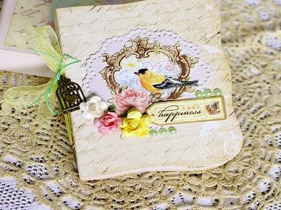 Фотоальбом handmade в коробочке, Молдова