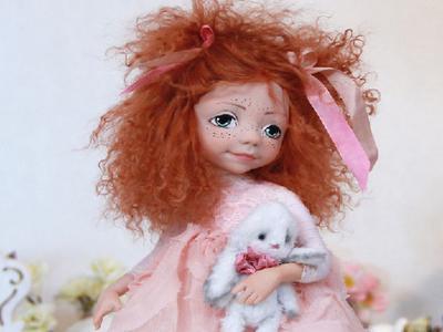 Подвижная кукла Кетти - ручная работа от Оксаны Сальниковой