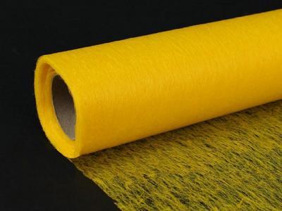 Сетка флористическая флизелиновая жёлтая
