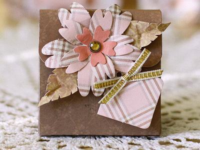 Коробочка для подарка ручной работы в Кишиневе