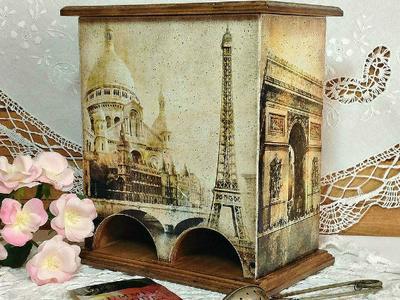 Чайный домик сделаный руками